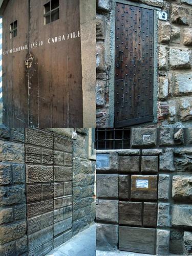 Oltrarno Doors, Via de' Bardi1