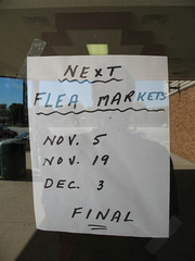The Last Flea Markets