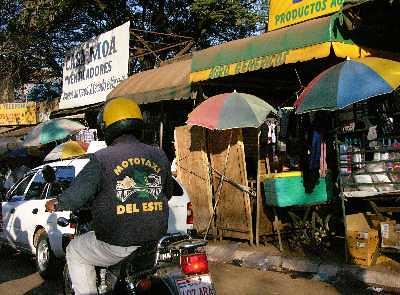 Ciudad del Este Moto Taxi