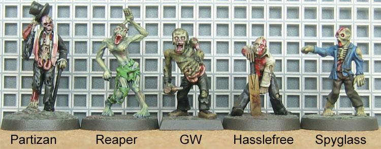 Zombie Comparison 2
