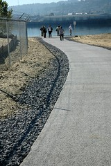 trail dedication ceremony- Swan Island