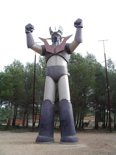 Estatua de Mazinger Z