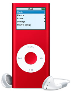 iPod Nano (PRODUCT) RED