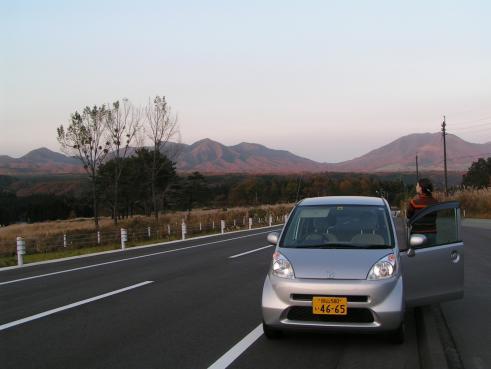 la région de Hiruzen à Okayama