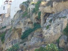 Habitations troglodytes à Massafra