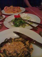 Dinner at Valentino's