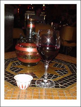 Libanesiskt vin och Kahve