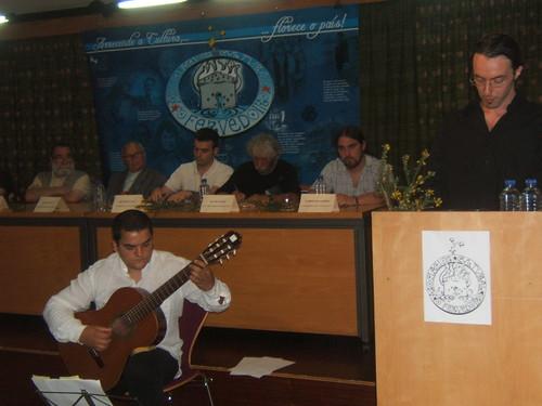 Martinhos Picallo, con Fran Campos á guitarra