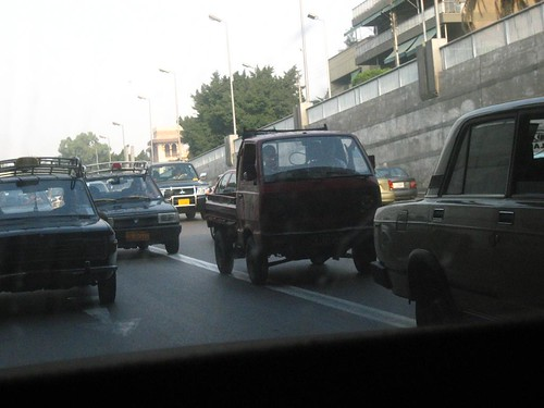 A Taste of Cairo Traffic