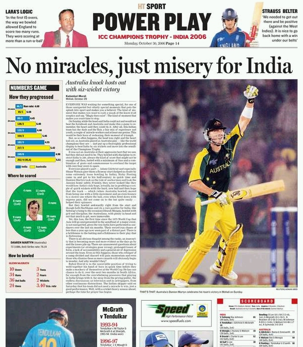 Hindustan Times: Sport