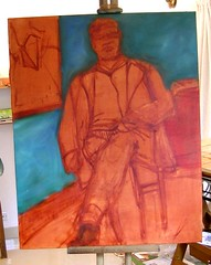 WIP 2 - Modigliani in his Studio