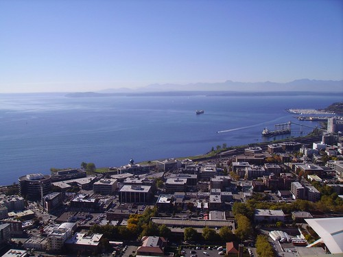 Puget Sound from the Space Needle