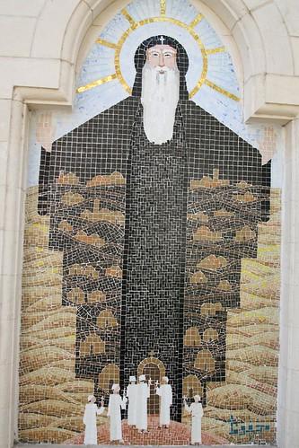 Mosaic at the Hanging Church