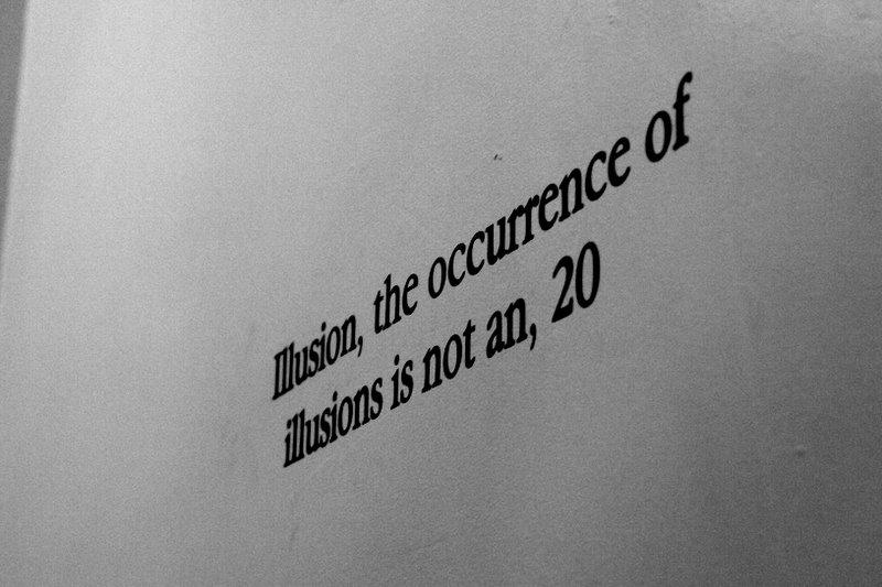 Written on the walls of Eckhart...