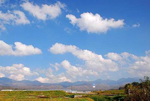 長野 白樺湖 - 信号待ち