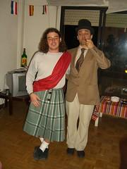 Escocés e inglés, hermanados.