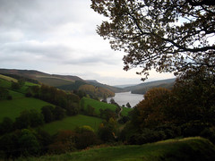 Ladybower Reservoir, Derbyshire UK