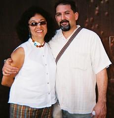 Poet, Naomi Quiñonez & Novelist, John @ DeYoung
