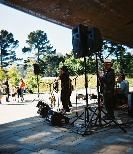 Steve Cervantes w/ Dr. Loco's Rocking Jalapeno Band