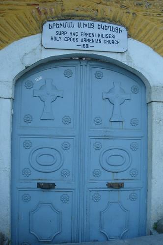 Surp Yerevman Haç Ermeni Kilisesi'nin Kapısı