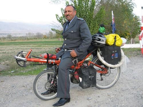 'Allo officer! - Penjikent, Tajikistan