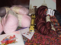 Yarn purchases in London