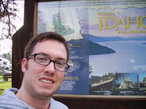 Self-Portrait in Idaho