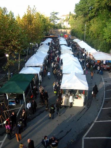 Craft Area of the Truffle Festival
