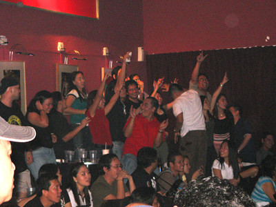 Pinoy crowd enjoying their stay at Banda Fantastika!