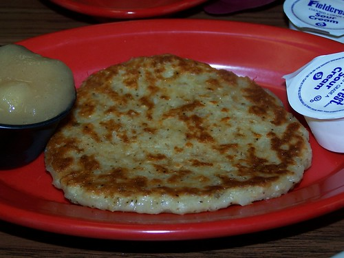 Potato Pancake @ Babushka's Kitchen