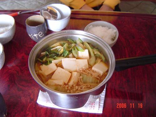 キムチ鍋 kimuchi nabe