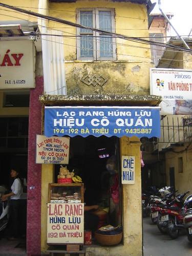 Ba Trieu nut house