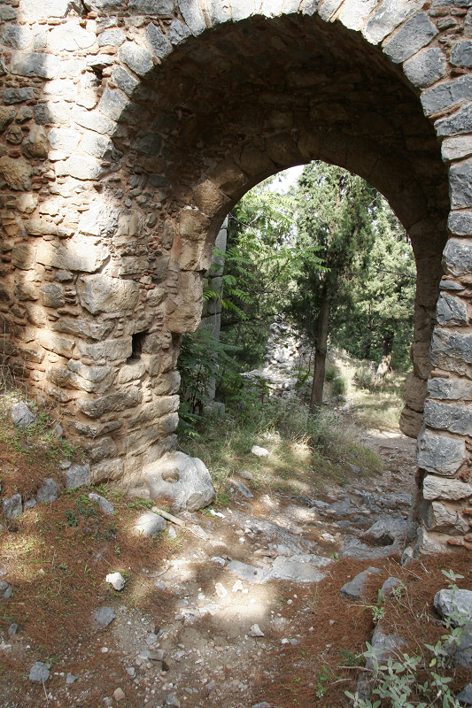 Castle at Livadia, Greece