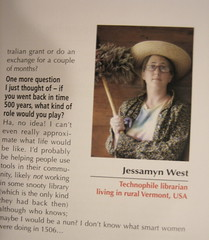 Me in an Australian magazine, with mop