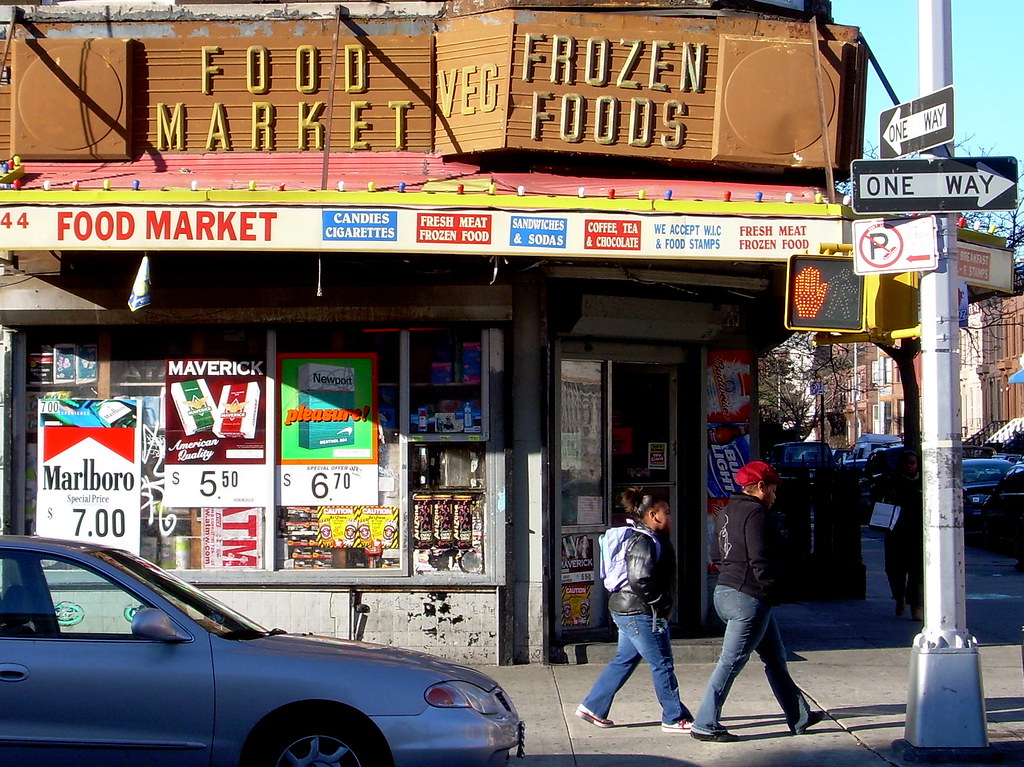 food market, bed-stuy