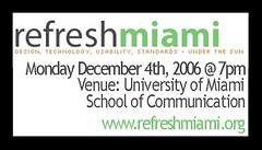 Refresh Miami December