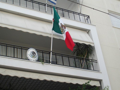 Where are the Mexican embassies in the United States?
