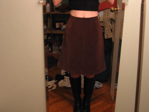 Skirt, waist