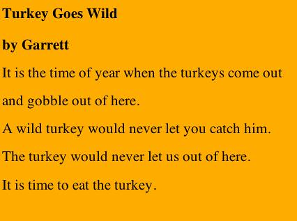 Turkey Goes Wils