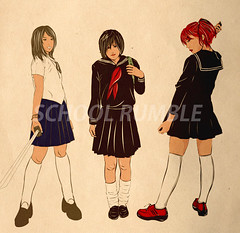 School Rumble characters