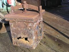 Rusty filter box