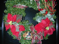 Wreath on the Front Door