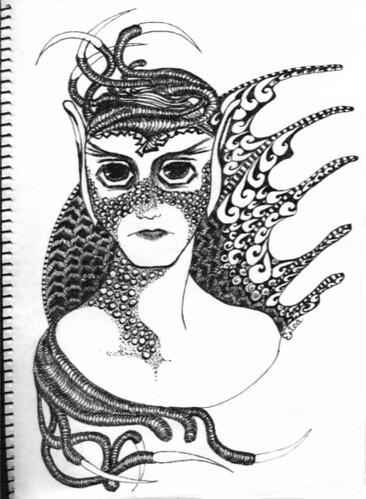 elfgirl sketch