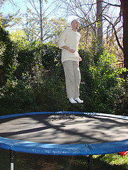 Christopher on Trampoline