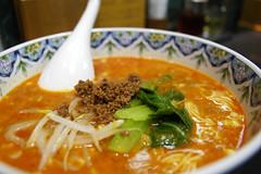 担々麺, 四川飯店, 福岡天神大丸