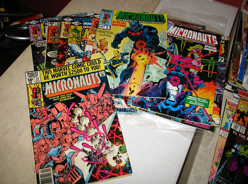 The Micronauts will always holds a special place in my heart.