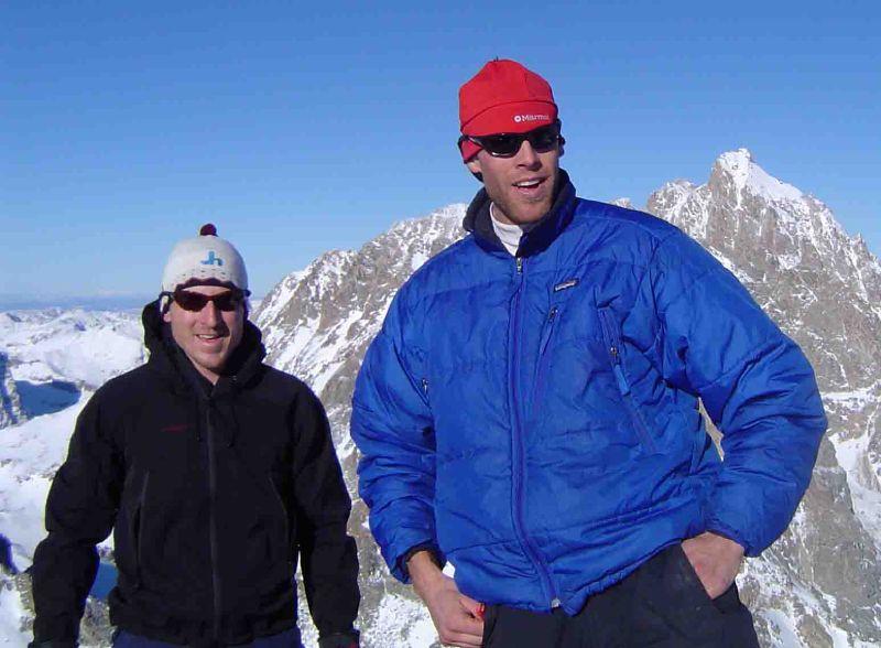 Dustin Lemke and The Grand Teton...I mean Rob Sigori