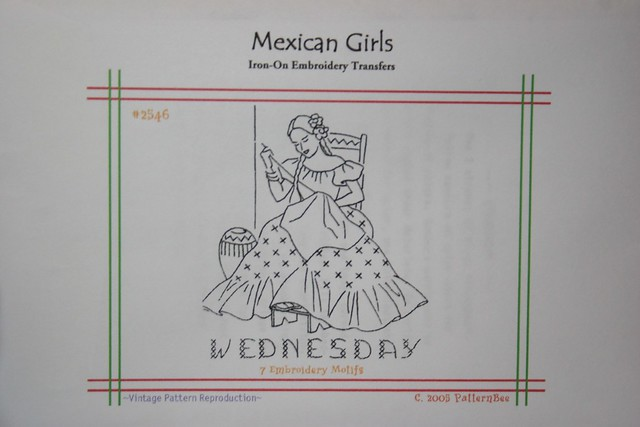 MEXICAN EMBROIDERY PATTERNS