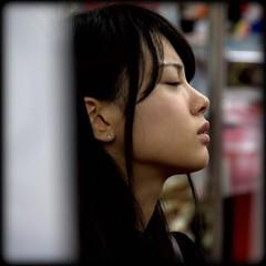 tokio girl dreaming photo by mario bellavite