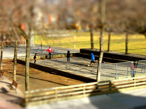 Tilt-Shift Soccer